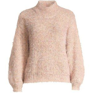 Joie || NEW Markita Sweater Pink Sky M Eyelash